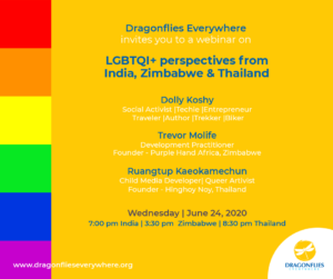 LGBTQI+ Perspectives from Zimbabwe, India and Thailand